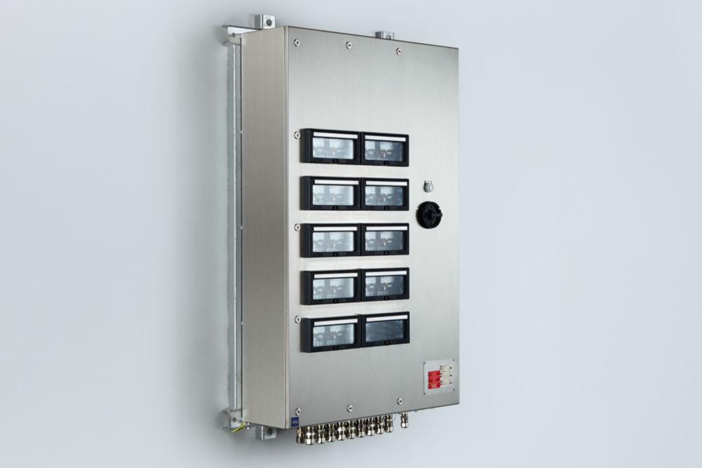 Custom-made Ex e control boxes