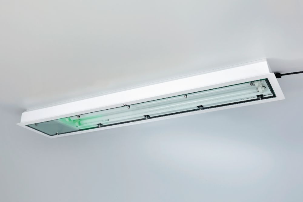 Emergency luminaire For fluorescent lamps Stainless steel - 267770