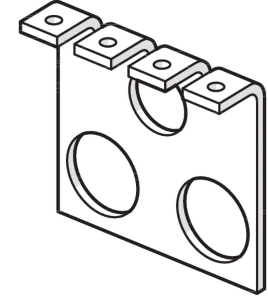 Ø 5,3 x 5,0 mm Blister 048263 GYS 100 Stanznieten Stahl