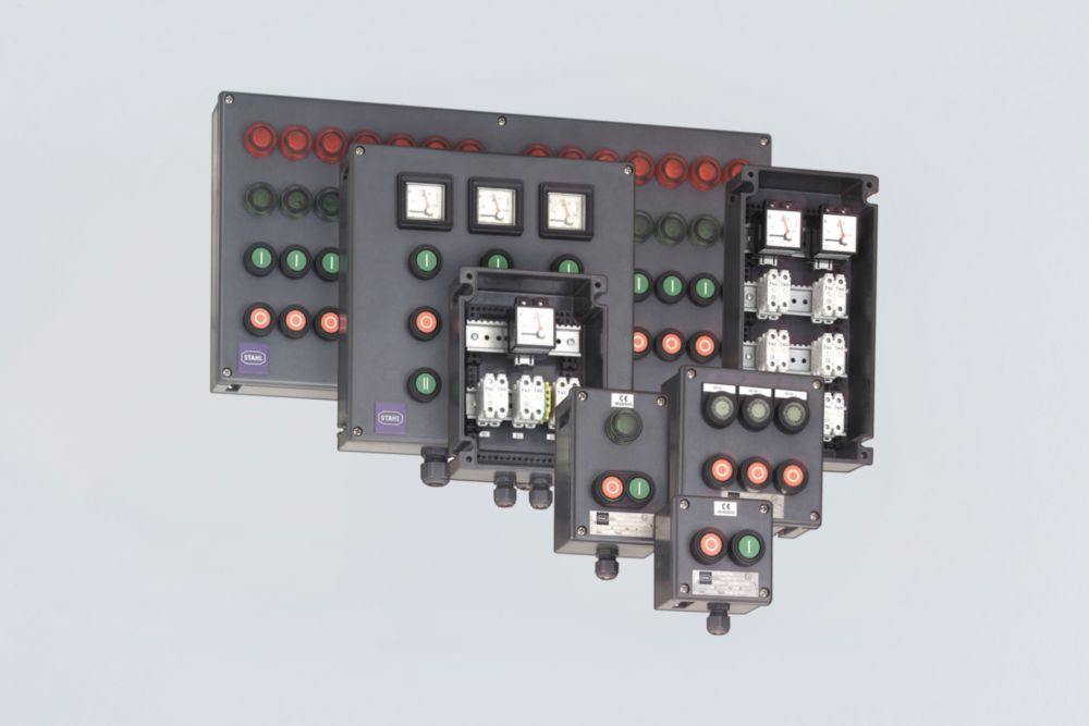 Control Stations Made of Polyester Resin Series 8146