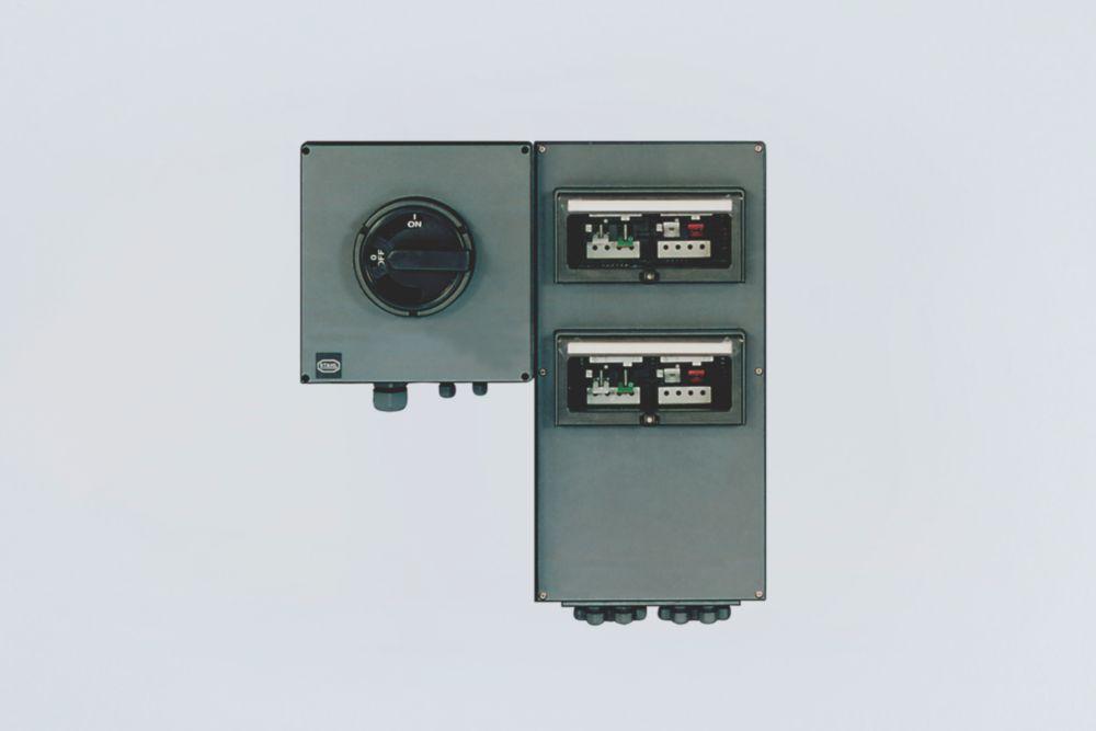 Circuit distribution board light With miniature circuit breaker - 137140