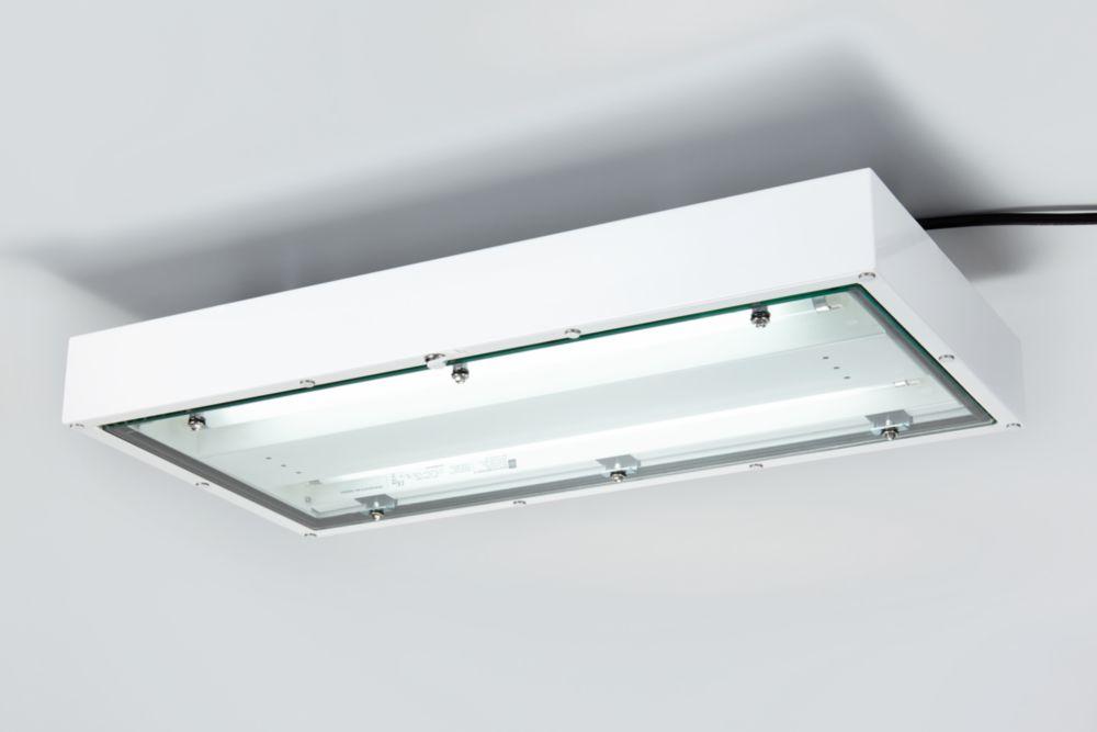 linear luminaire for fluorescent lamps sheet steel 248571. Black Bedroom Furniture Sets. Home Design Ideas