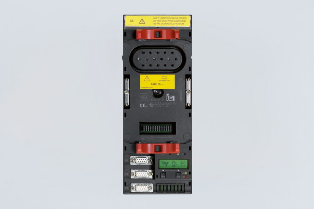 Communication interface with Ex i system supply