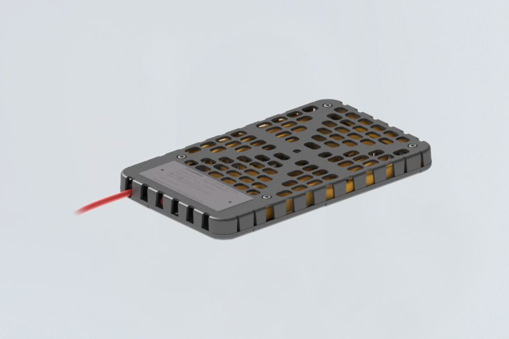 Robust self-regulating enclosure heaters for hazardous areas