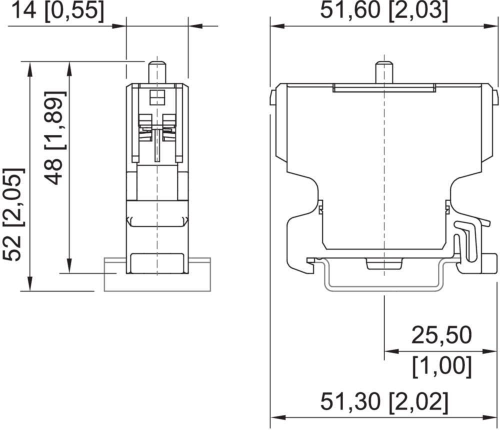 Stahl NC Contact Hazardous Location 8082//1 8082//1-2