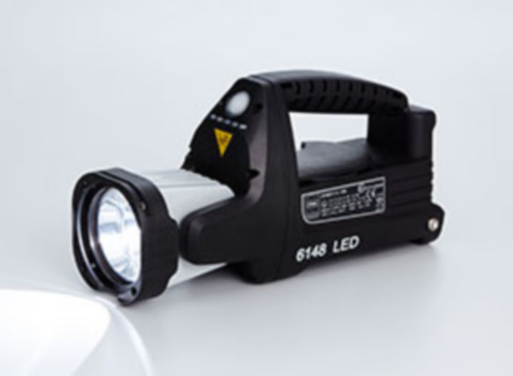 LED hand lamps, portable searchlights and torches