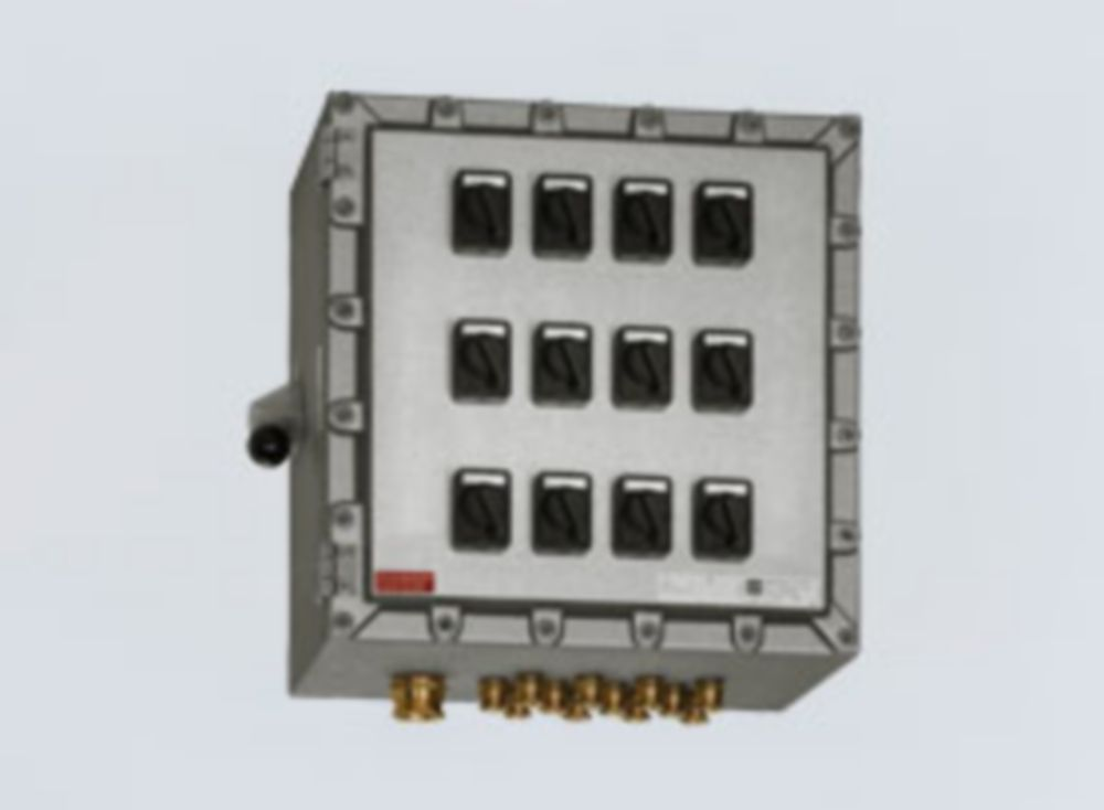 Explosion Protection Products Terminals Control Boxes