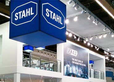 Ex trade fairs exhibitions R. STAHL