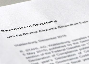 Ex declaration of compliance R. STAHL